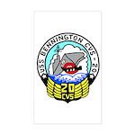 USS Bennington (CVS 20) Rectangle Sticker