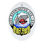 USS Bennington (CVS 20) Oval Ornament