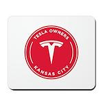 Tesla Owners Club KC Mousepad