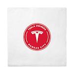 Tesla Owners Club KC Queen Duvet