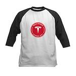 Tesla Owners Club KC Kids Baseball Tee