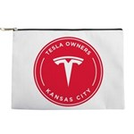 Tesla Owners Club KC Makeup Bag