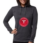Tesla Owners Club KC Womens Hooded Shirt