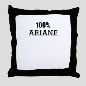 100% ARIANE Throw Pillow