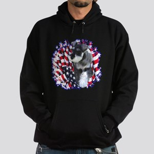 Mini Schnauzer Patriotic Sweatshirt