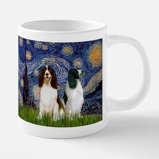 Starry Night & Springer Mugs