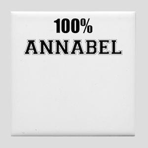 100% ANNABEL Tile Coaster