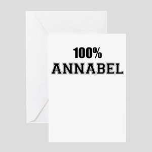 100% ANNABEL Greeting Cards
