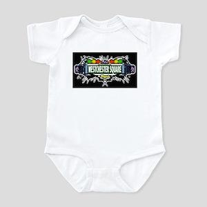westchester square (Black) Infant Bodysuit