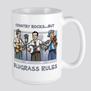 Mug: Country rocks but bluegrass rules Mugs
