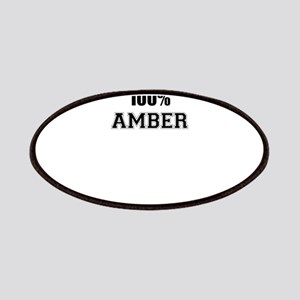 100% AMBER Patch