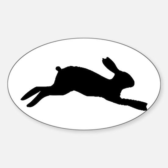 Rabbit Silhouette Decal