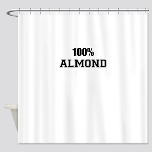 100% ALMOND Shower Curtain