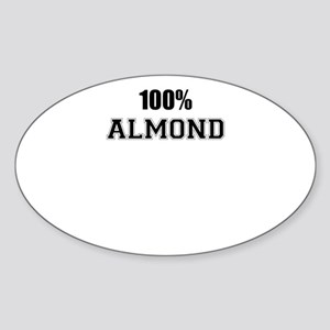100% ALMOND Sticker