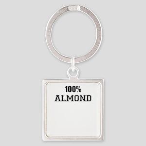100% ALMOND Keychains