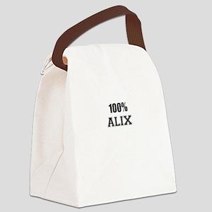 100% ALIX Canvas Lunch Bag