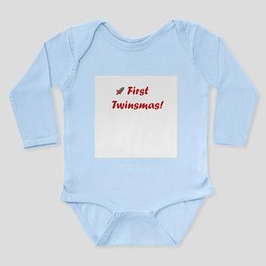 First twinsmas Infant Bodysuit Body Suit