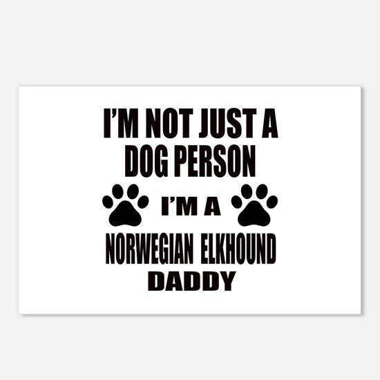 I'm a Norwegian Elkhound Postcards (Package of 8)