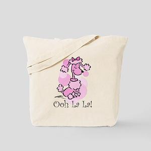 Ooh La La Poodle Tote Bag