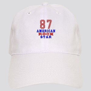 87 American Rock Star Cap
