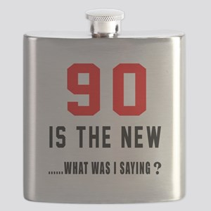 90 Is The New What Was I Saying ? Flask