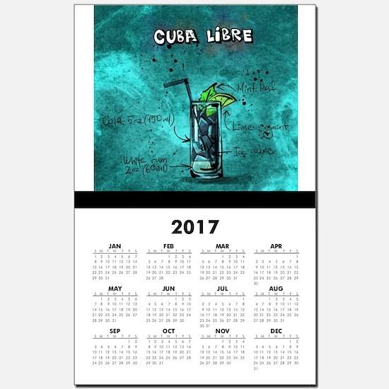 Cuba Libre Calendar Print