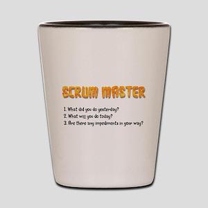 Scrum Master Sprint Questions Shot Glass