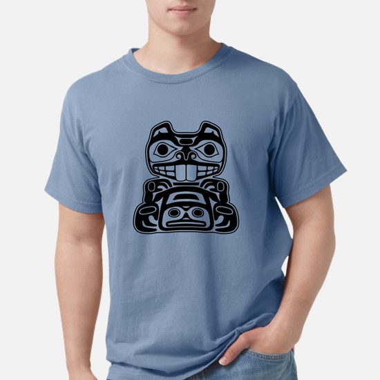 Beaver Native American Design T-Shirt