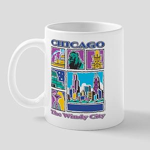 Chicago Puzzle Mug
