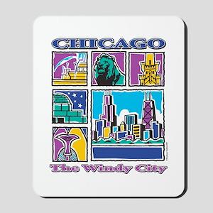 Chicago Puzzle Mousepad