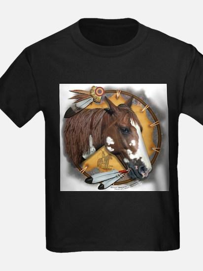 War Pony & Shield Ash Grey T-Shirt