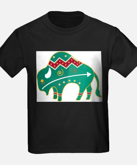 Indian Spirit Buffalo T-Shirt