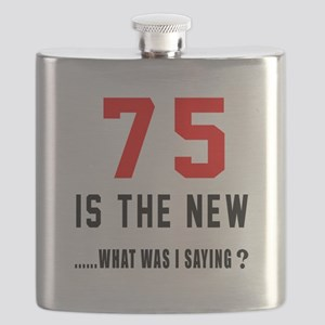 75 Is The New What Was I Saying ? Flask
