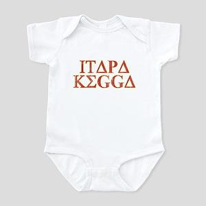 ITAPA KEGGA (Greek) Infant Bodysuit