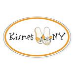 Kismet NY Oval Sticker
