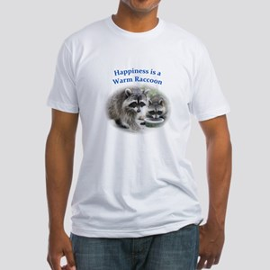 Raccoon Fitted T-Shirt