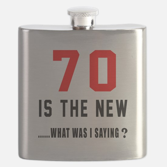 70 Is The New What Was I Saying ? Flask