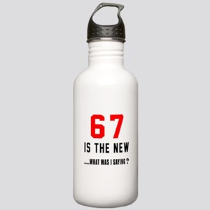 67 Is The New What Was Stainless Water Bottle 1.0L
