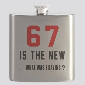 67 Is The New What Was I Saying ? Flask