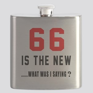 66 Is The New What Was I Saying ? Flask