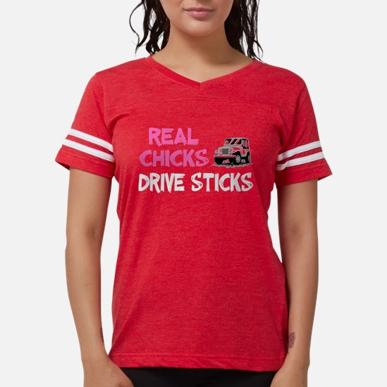 Real Chicks Drive Sticks! T-Shirt
