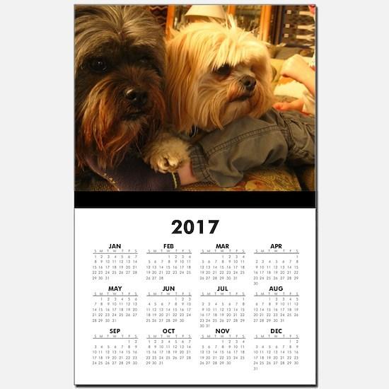 Unique Rescued breed Calendar Print
