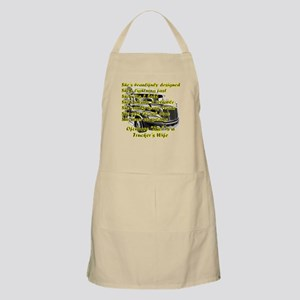 Truckers Wife She design Apron