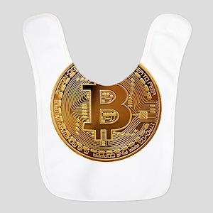 Bitcoin Polyester Baby Bib