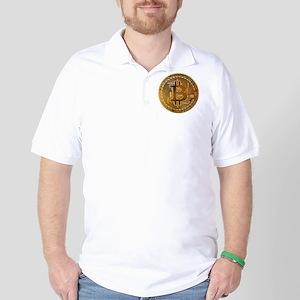 Bitcoin Golf Shirt