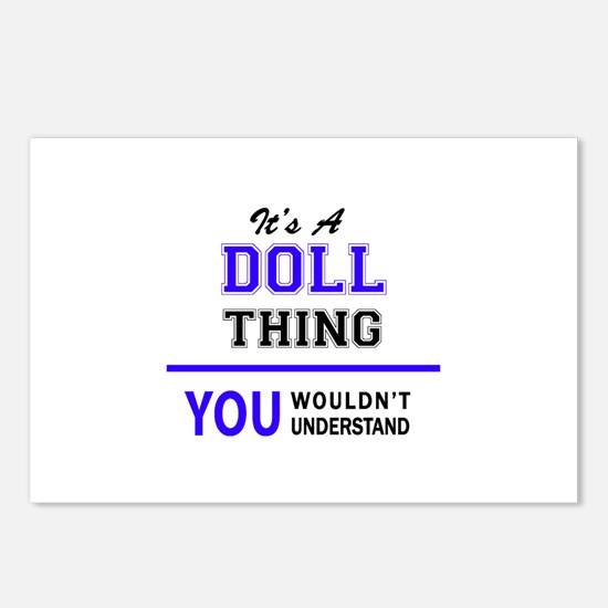 DOLL thing, you wouldn't Postcards (Package of 8)