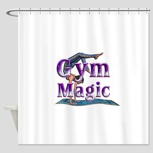 Gymnastics Magic Shower Curtain