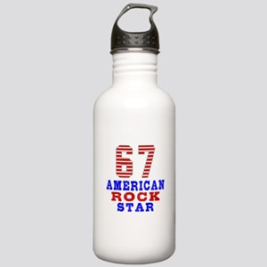 67 American Rock Star Stainless Water Bottle 1.0L