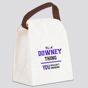 DOWNEY thing, you wouldn't unders Canvas Lunch Bag