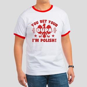 Funny Polish Dupa Ringer T
